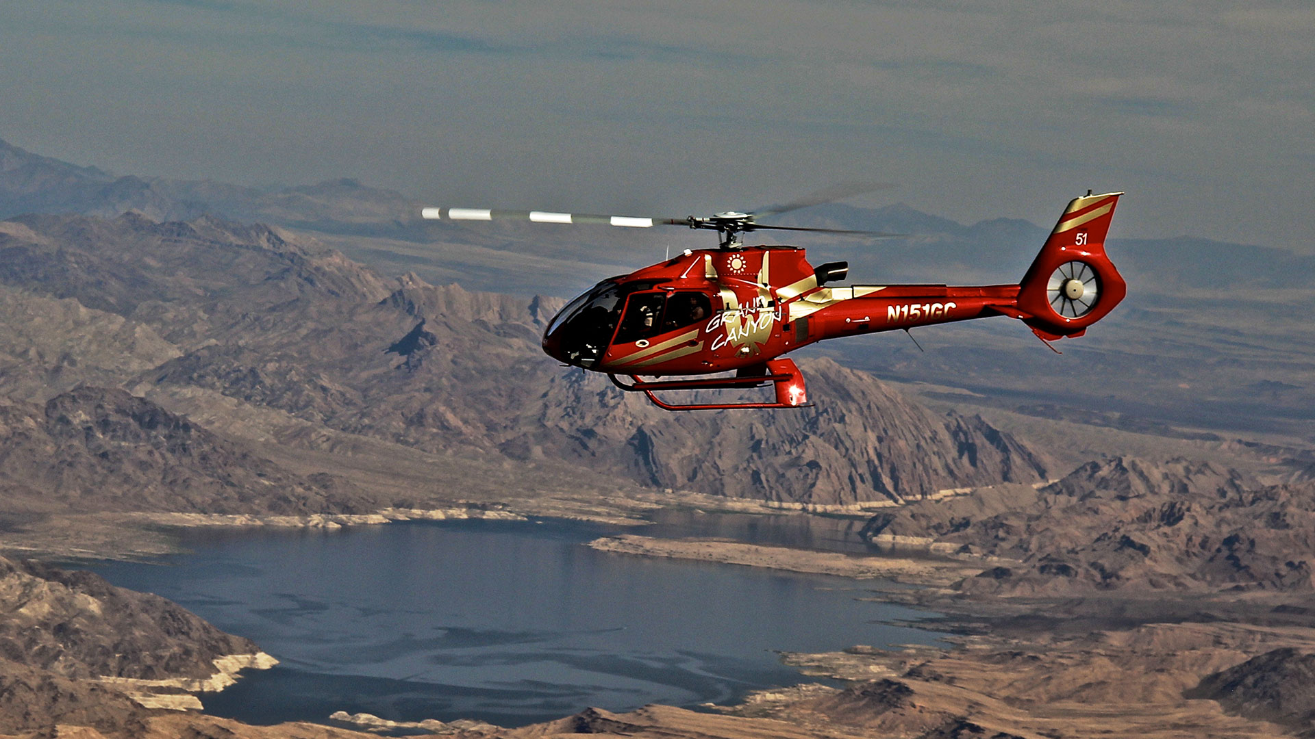 Grand Canyon Helicopter tour through Papillon tours.