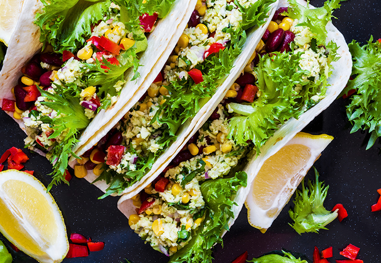 Black Bean Tacos for No-Bake Summer Dinner