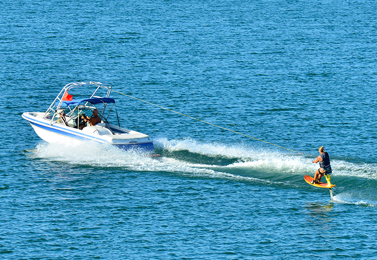 Watersports on Lake Havasu