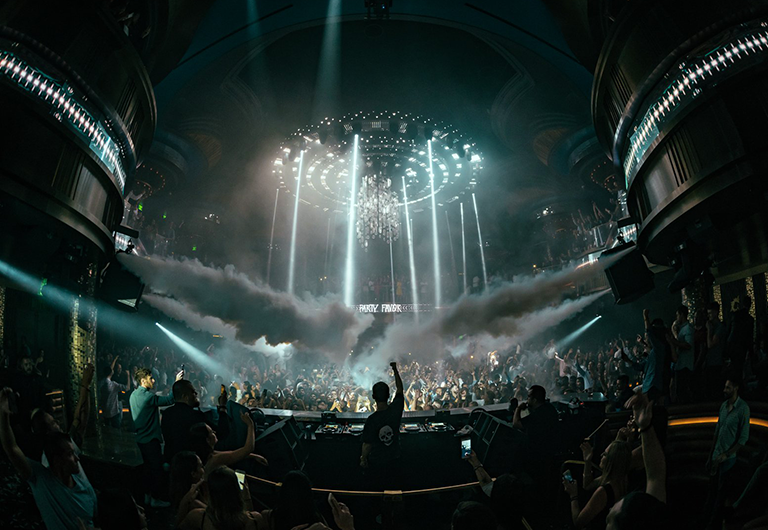 DJ performing at Omnia Las Vegas
